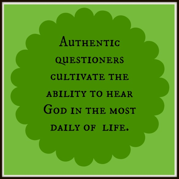 authentic questioners